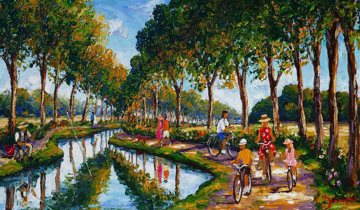 Canal du Midi - Véronique Ziminski